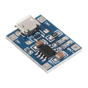Модуль заряда Li-Ion аккумулятора с разъемом микро USB