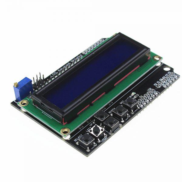 Текстовый экран LCD 1602 с клавиатурой